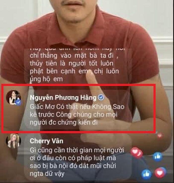 Xôn xao bà Nguyễn Phương Hằng vào xem Công Vinh livestream 2