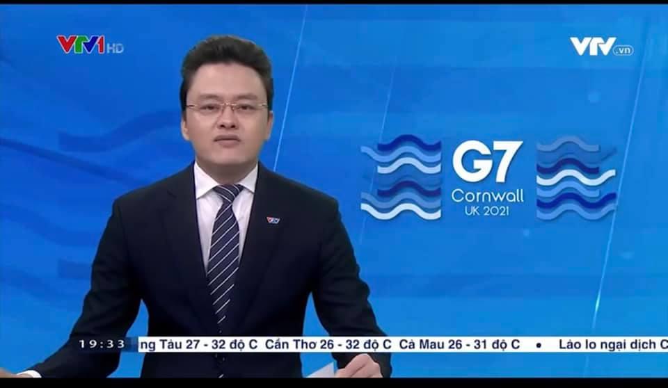 BTV Hữu Bằng VTV lộ khoảnh khắc khó đỡ khi đang dẫn bản tin Thời sự 19h 4