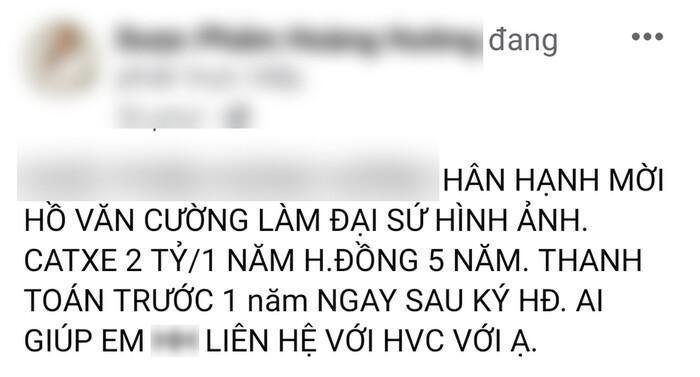 Hồ Văn Cường tưởng vớ bở 'chuột sa chĩnh gạo' ngay khi rời khỏi nhà mẹ nuôi Phi Nhung 1