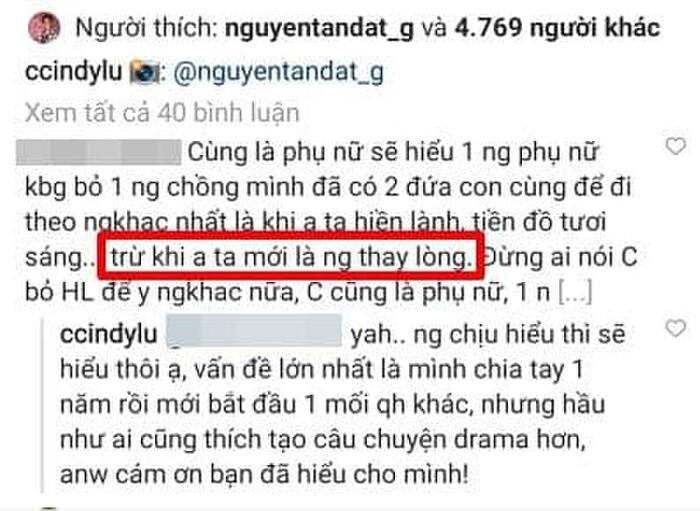 Thái độ khó hiểu của Cindy Lư trong ẩn ý Hoài Lâm thay lòng trước khi ly hôn 3