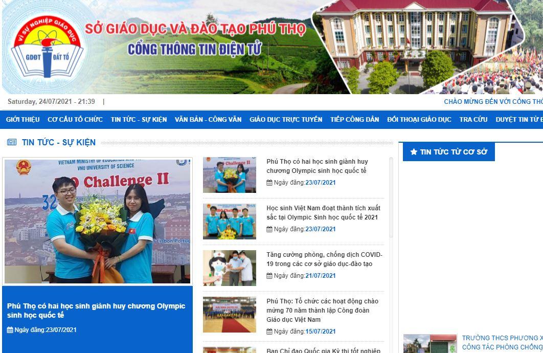 Tra cứu điểm thi tốt nghiệp THPT quốc gia 2021 ở Vĩnh Phúc 2