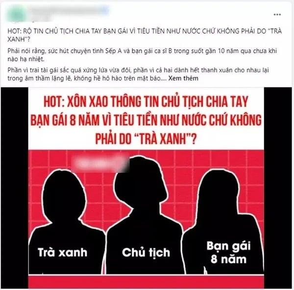 Sơn Tùng tỏ thái độ lạ giữa tin đồn chủ tịch chia tay vì bạn gái cũ đỏng đảnh, minh oan cho 'trà xanh' 3