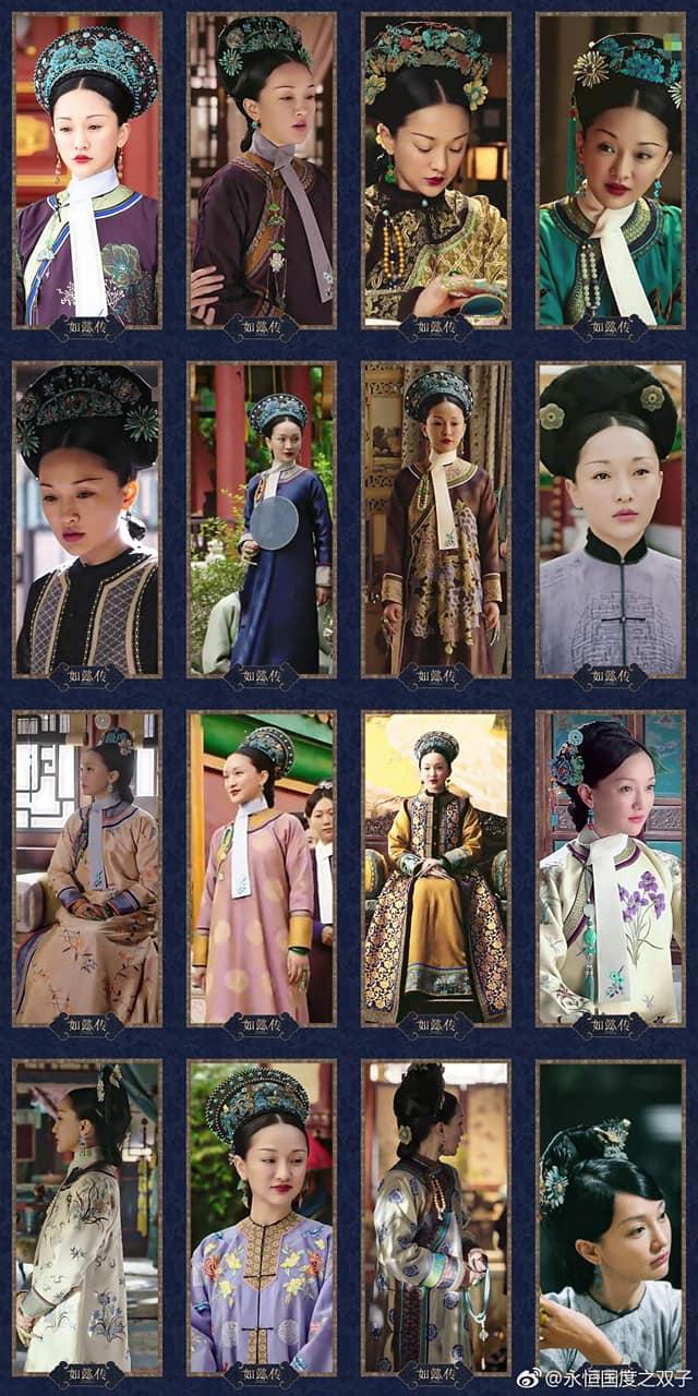 Bộ sưu tập trang phục triệu đô của Châu Tấn trong 'Hậu cung như ý truyện' khiến các 'tỷ muội' đỏ mắt ghen tỵ 11
