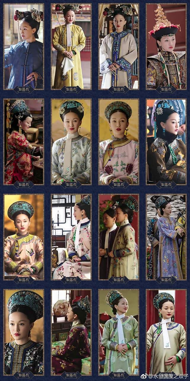 Bộ sưu tập trang phục triệu đô của Châu Tấn trong 'Hậu cung như ý truyện' khiến các 'tỷ muội' đỏ mắt ghen tỵ 10