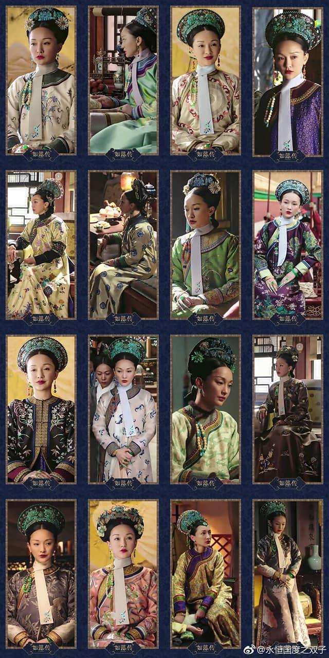 Bộ sưu tập trang phục triệu đô của Châu Tấn trong 'Hậu cung như ý truyện' khiến các 'tỷ muội' đỏ mắt ghen tỵ 9