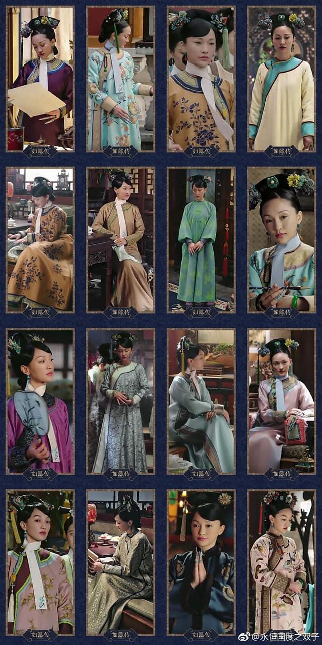 Bộ sưu tập trang phục triệu đô của Châu Tấn trong 'Hậu cung như ý truyện' khiến các 'tỷ muội' đỏ mắt ghen tỵ 6