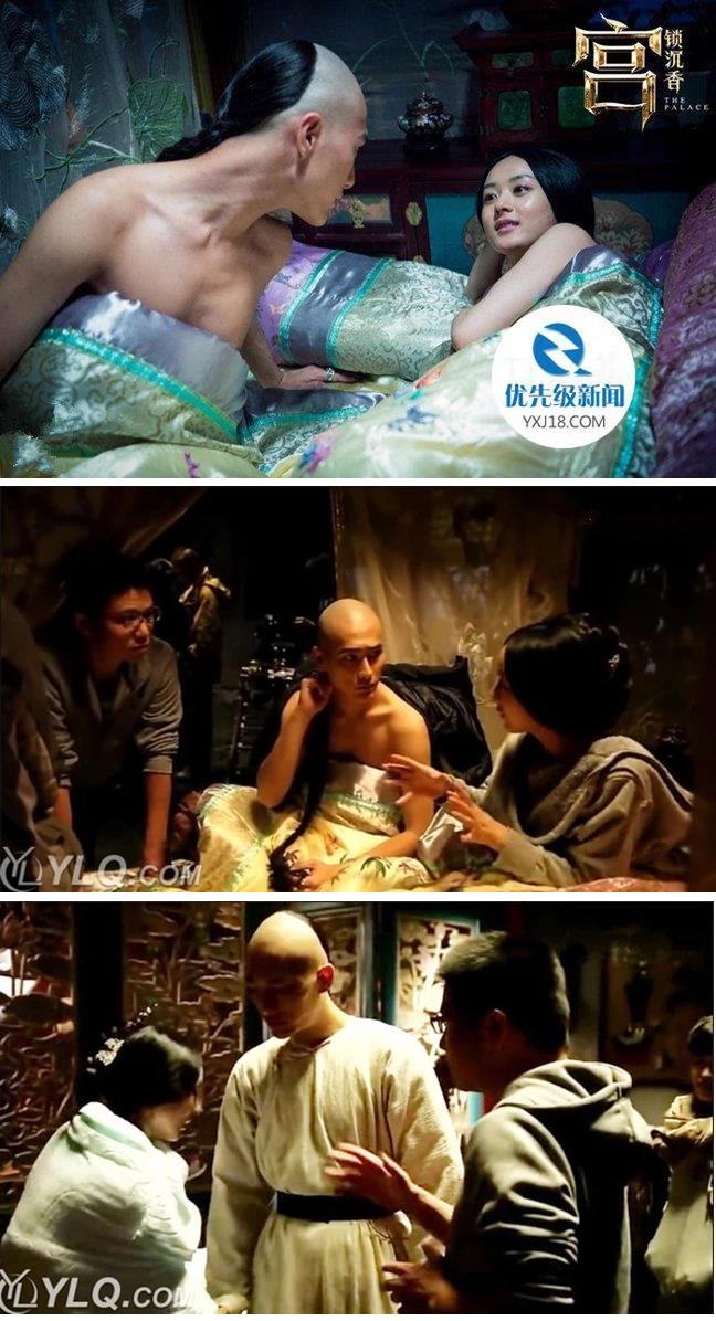 Triệu Lệ Dĩnh bị khui lại loạt cảnh nóng từ bồn tắm đến trên giường trên màn ảnh khiến người xem đỏ mặt 3