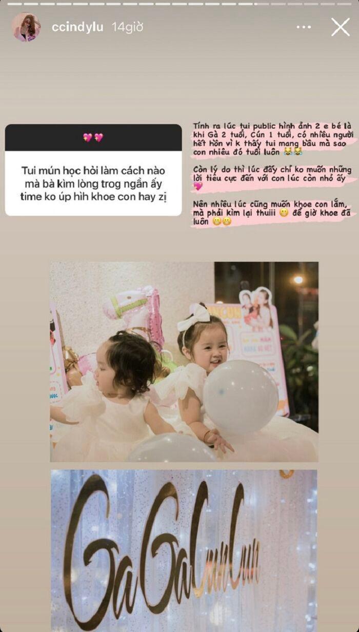 Sau hơn 1 năm đường ai nấy đi, Cindy Lư bất ngờ tiết lộ bí mật hôn nhân với Hoài Lâm 1
