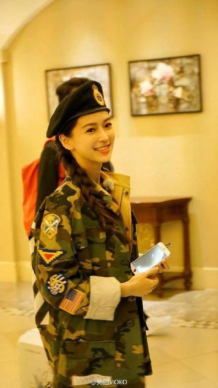 11 sao nữ Cbiz mặc quân trang: Dương Mịch, Lý Thấm, Hinh Dư phong trần nhưng trùm cuối 'soái khí' nhất 2