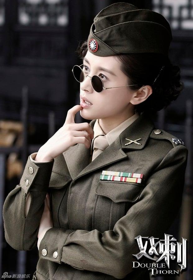 11 sao nữ Cbiz mặc quân trang: Dương Mịch, Lý Thấm, Hinh Dư phong trần nhưng trùm cuối 'soái khí' nhất 1