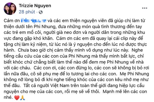 Vợ cũ Bằng Kiều đau xót hứa hẹn một điều giữa lúc tình hình sức khỏe Phi Nhung chuyển xấu 2
