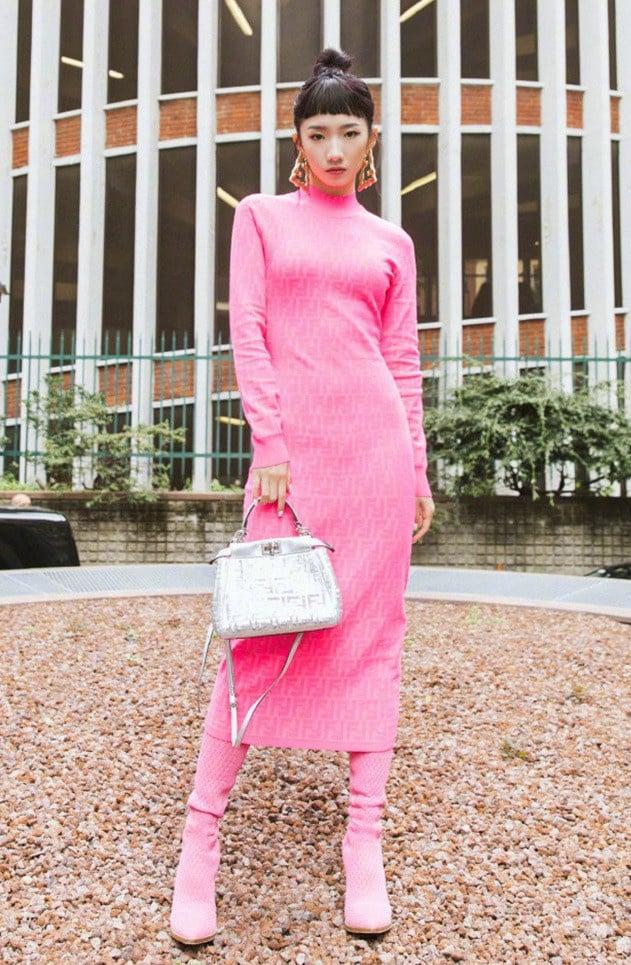 17 mỹ nhân Cbiz đọ sắc trong váy dạ hội màu hồng: Lộ Tư kiêu sa, Dương Mịch quyến rũ, Nhiệt Ba 'ngọt lịm' đến trùm cuối sến súa nổi da gà 18
