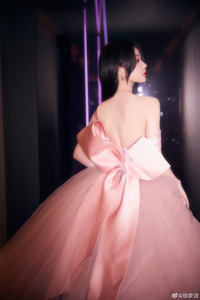 17 mỹ nhân Cbiz đọ sắc trong váy dạ hội màu hồng: Lộ Tư kiêu sa, Dương Mịch quyến rũ, Nhiệt Ba 'ngọt lịm' đến trùm cuối sến súa nổi da gà 15