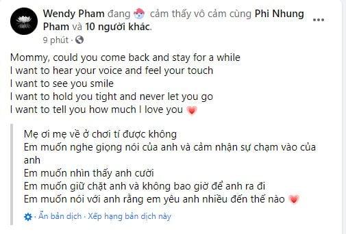 Hồ Văn Cường và mẹ ruột lộ diện trong lễ cầu siêu của ca sĩ Phi Nhung 5