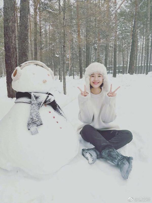 11 sao Cbiz với khoảnh khắc chơi ném tuyết: Tiêu Chiến đáng yêu, Lộ Tư tinh nghịch, trùm cuối tấu hài không chịu nổi 9