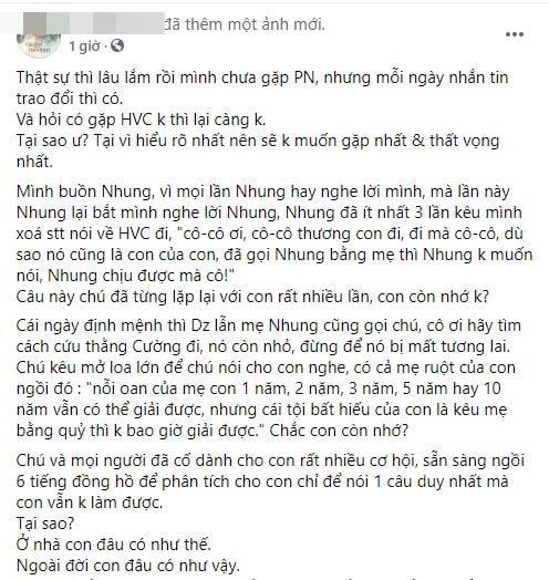 Hồ Văn Cường thay đổi, Phi Nhung liệu có hối hận khi đã nhận con nuôi? 1