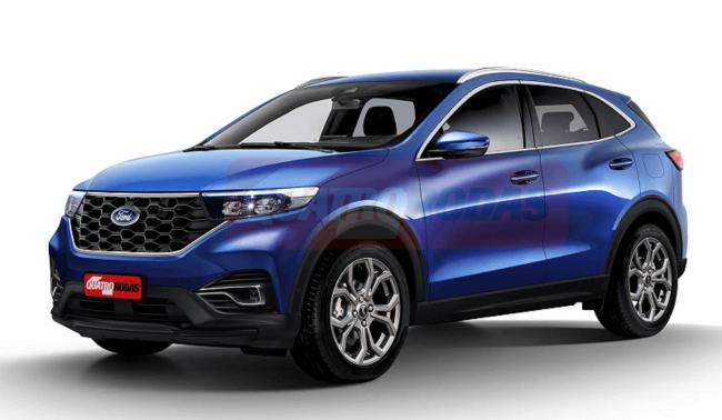 Đếm ngược ngày Ford EcoSport 2022 trình làng, Honda HR-V liệu có run rẩy? 1