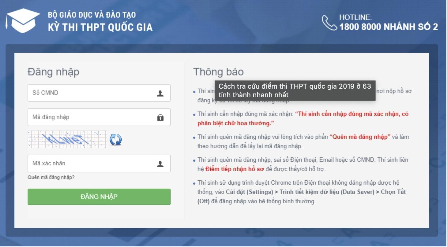 Tra cứu điểm thi tốt nghiệp THPT Quốc gia 2021 tỉnh Quảng Nam nhanh nhất 2