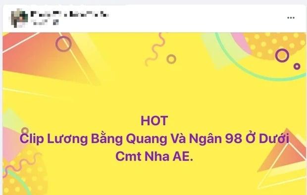 Ngân 98 và Lương Bằng Quang khiến MXH 'dậy sóng' lúc nửa đêm vì ồn ào nghi lộ clip nhạy cảm 3