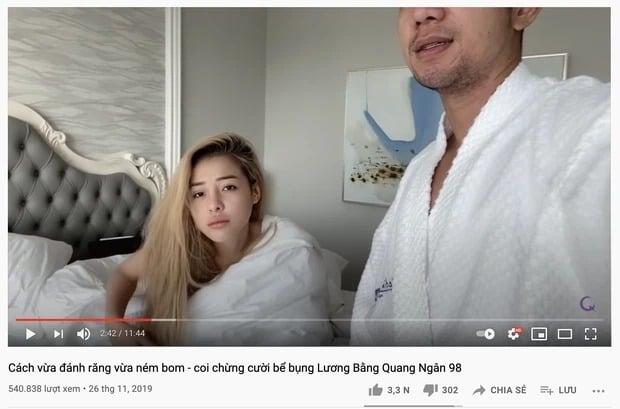 Ngân 98 và Lương Bằng Quang khiến MXH 'dậy sóng' lúc nửa đêm vì ồn ào nghi lộ clip nhạy cảm 5