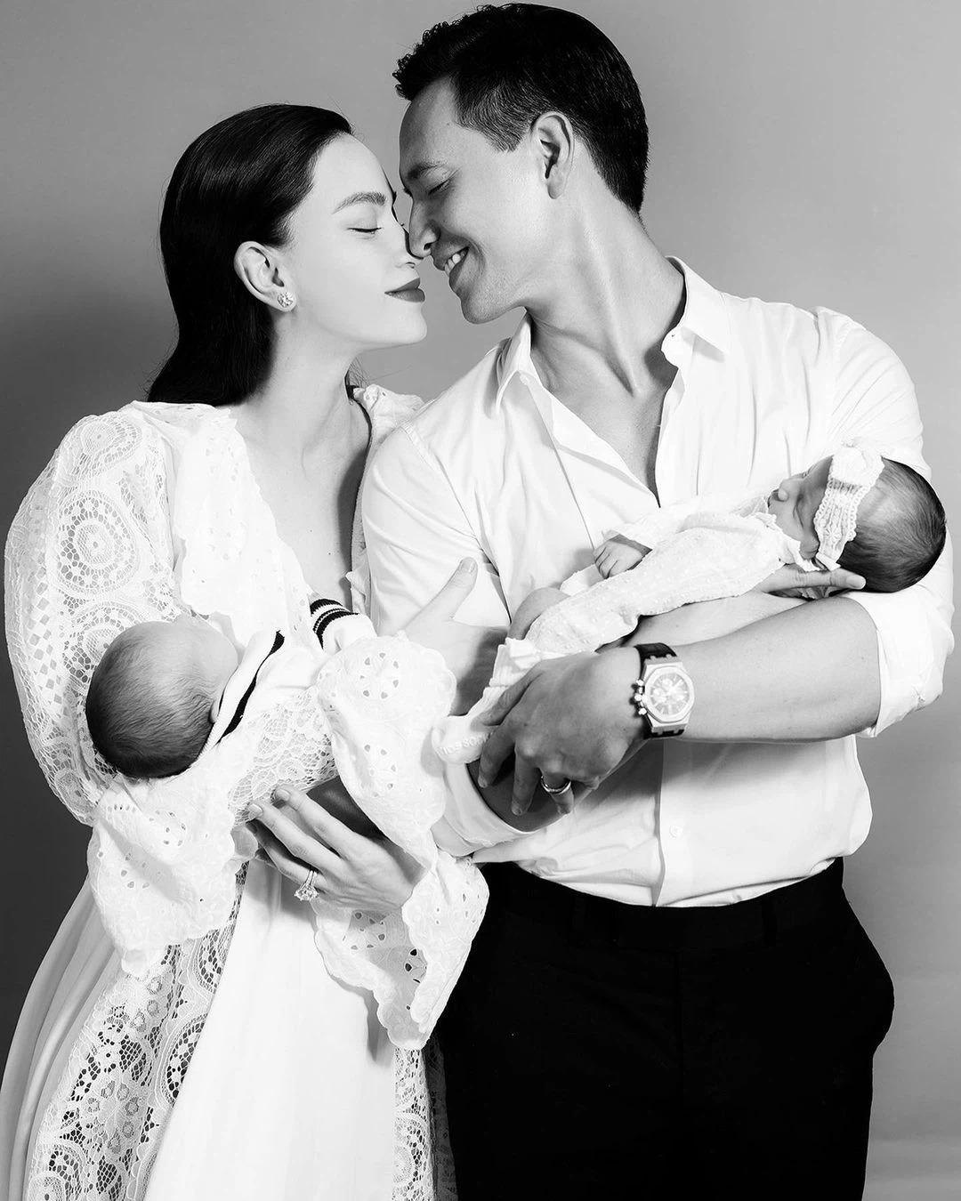 Hồ Ngọc Hà, Kim Lý cuối cùng cũng chịu chung số phận những 'ông bố bà mẹ bỉm sữa' 3