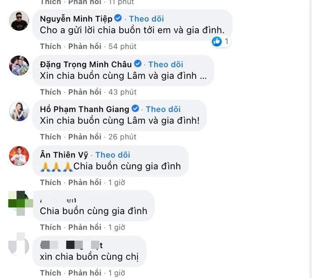 Hoa hậu Thuỳ Lâm đau lòng báo tang sự, dàn sao Việt xót xa gửi lời chia buồn 2