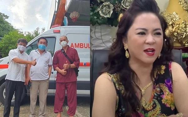 Hậu 'quay xe với bà Nguyễn Phương Hằng, ông Đoàn Ngọc Hải mạnh tay chi gần 1,3 tỷ mua bình oxy tặng nhóm Nhất Tâm 3