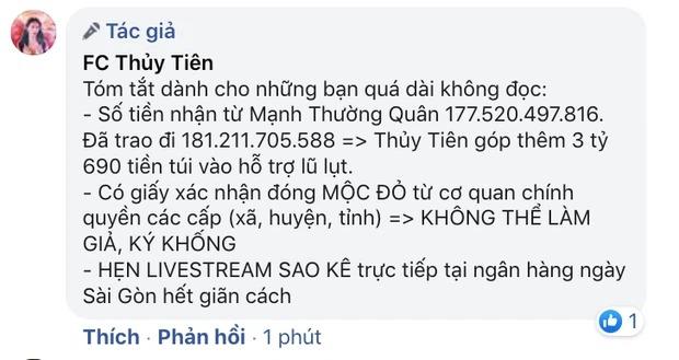 Hết bị bà Phương Hằng vạch trần lại đến VTV 'nhắc khéo', Thuỷ Tiên có động thái đáp trả giữa ồn ào 2
