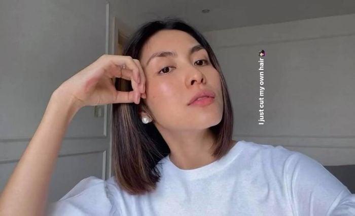 Khoe mái tóc tự cắt, Tăng Thanh Hà khiến dân tình sửng sốt vì diện mạo na ná hoa hậu Tiểu Vy 1