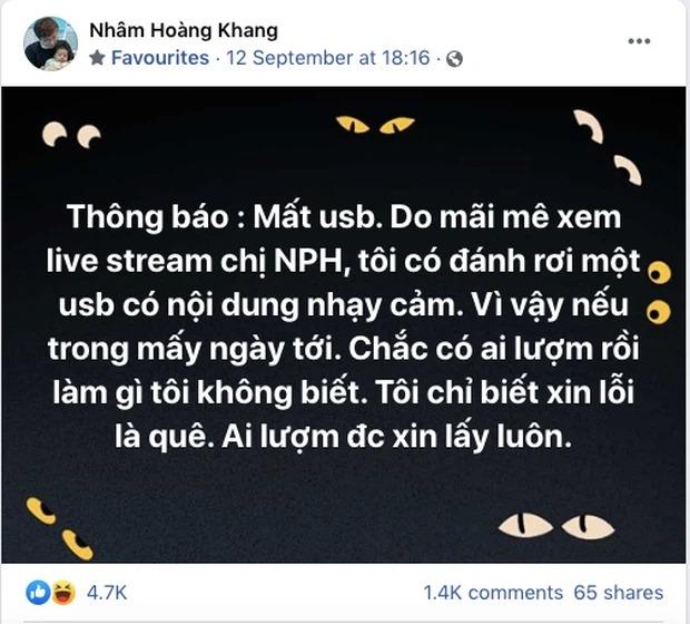 Facebooker Nhâm Hoàng Khang bị CĐM 'bóc mẽ chiêu trò' sau khi tung sao kê 'quỹ Hằng Hứu' 2