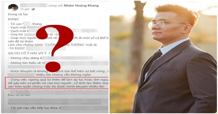 Facebooker Nhâm Hoàng Khang bị CĐM 'bóc mẽ chiêu trò' sau khi tung sao kê 'quỹ Hằng Hứu' 4