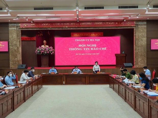 Hà Nội không áp dụng giấy đi đường và phân chia 3 vùng sau 6h ngày 21/9 1