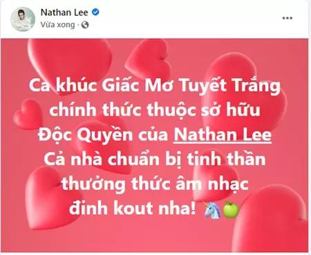 Nathan Lee chơi lớn khi vung tay 'chốt deal' bản quyền ca khúc Giấc mơ tuyết trắng của Thuỷ Tiên 1