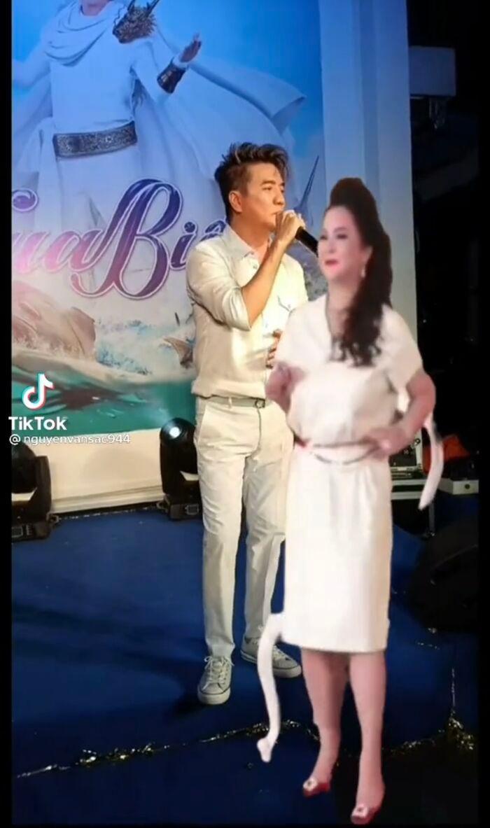 Thực hư chuyện bà Phương Hằng và Đàm Vĩnh Hưng chung sân khấu hát múa ăn ý mặc ồn ào 2