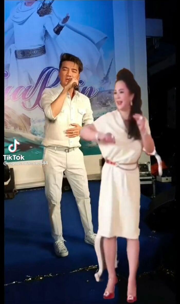 Thực hư chuyện bà Phương Hằng và Đàm Vĩnh Hưng chung sân khấu hát múa ăn ý mặc ồn ào 4
