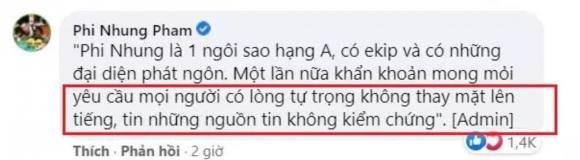 Vợ cũ Bằng Kiều phớt lờ động thái 'dằn mặt' từ phía ekip Phi Nhung sau màn 'khóc rớt lông mi giả' 1
