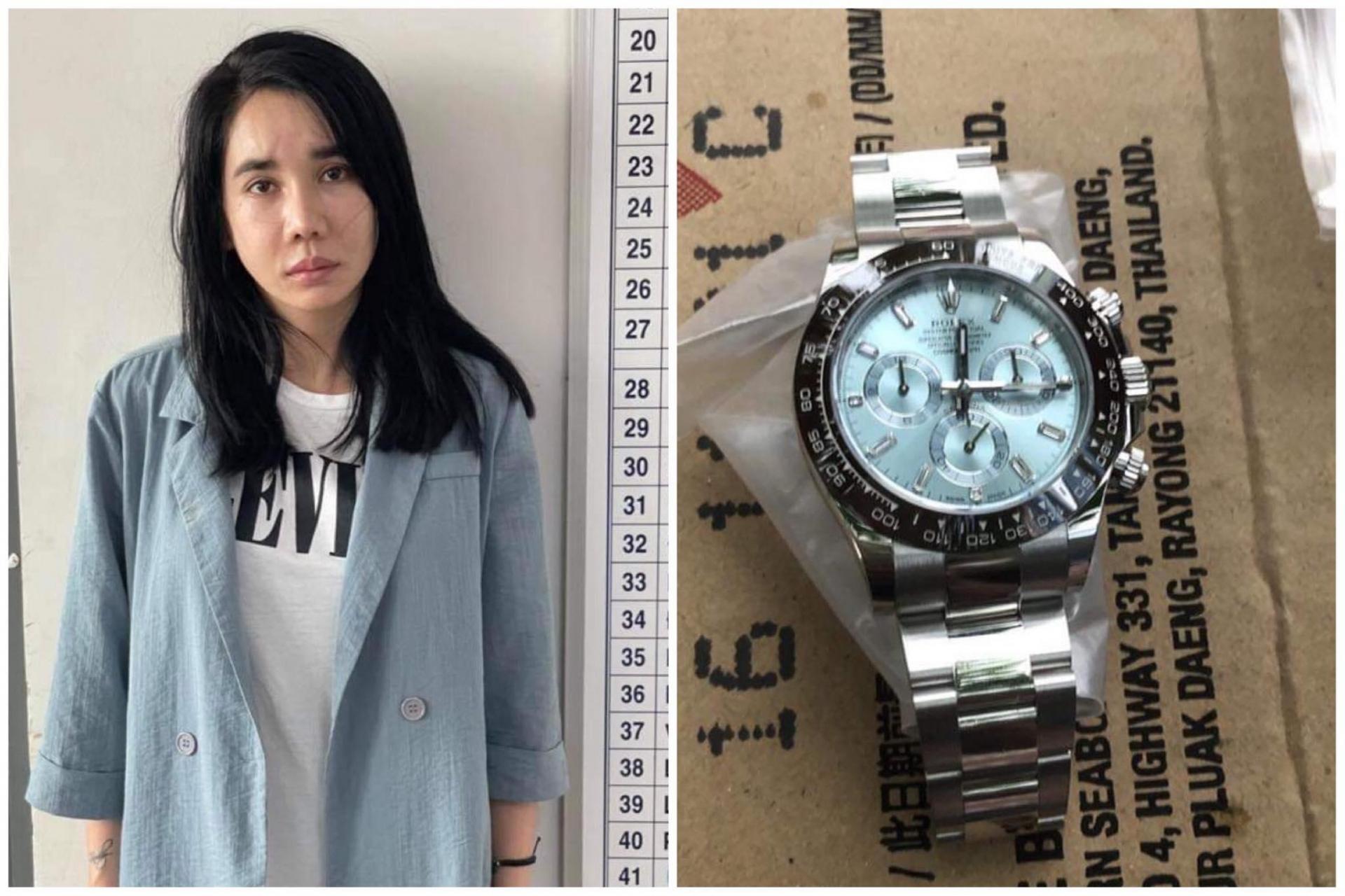 Hốt hoảng với nhan sắc của hoa hậu bị bắt vì trộm đồng hồ Rolex 2 tỷ của bạn trai 1