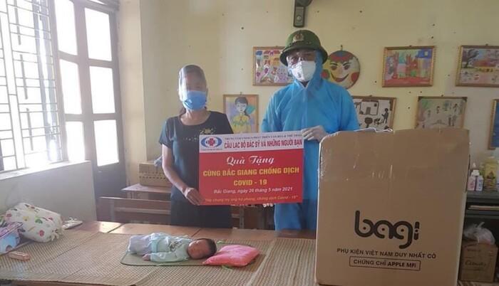 Bắc Giang: Bé 5 tuổi đập heo đất, lấy tiền tiết kiệm ủng hộ quỹ phòng chống dịch Covid-19 1