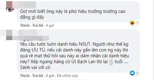 Duc Hai به تازگی از پست خود راحت شده است ، مردم می خواهند از عنوان هنرمند ارجمند 3 محروم شوند