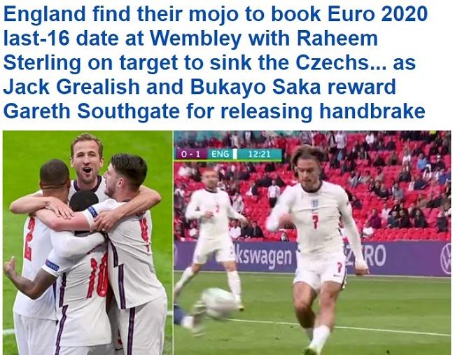EURO 2020: Chơi tất tay trước CH Séc, báo Anh lo 'Tam sư' bị loại nếu gặp thử thách cực đại ở vòng 1/8 4