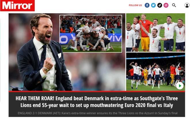 Xử ép Đan Mạch, trọng tài giúp ĐT Anh lần đầu tiên lọt vào chung kết Euro 4