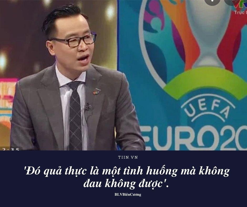 Cặp bài trùng BLV Tạ Biên Cương - Khắc Cường tiếp tục giữ phong độ 'nhả' quote trong trận Chung kết Euro 2020 1