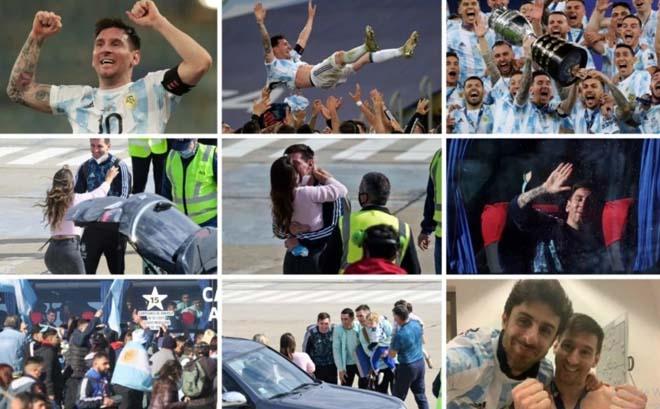 Messi lại làm lên lịch sử với khoảnh khắc ôm cúp Copa trên Instagram 2