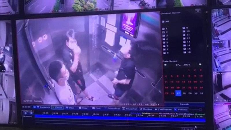 Đối tượng vô ý thức trong thang máy chung cư Home City lĩnh án phạt 3