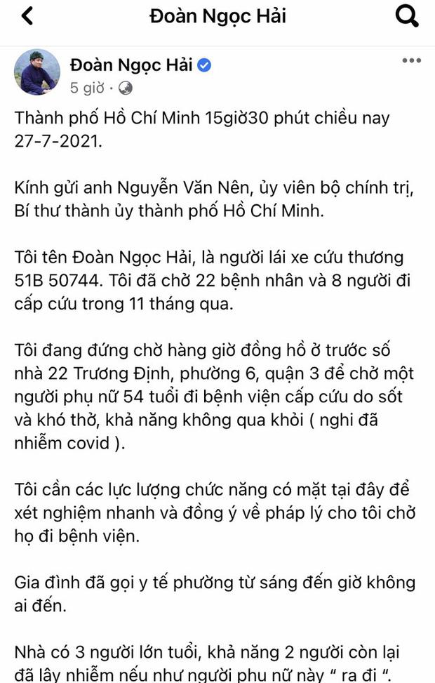 Quận 3: Thông tin ông Đoàn Ngọc Hải phản ánh trên Facebook gây hiểu nhầm 1