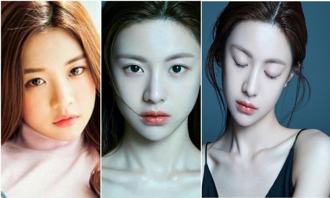 Mỹ nhân Hàn sở hữu gương mặt tỉ lệ 'kim cương' chỉ nhờ nâng mũi 4