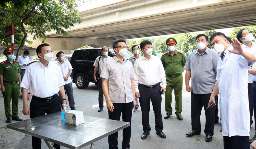 Quyết tâm cao nhất để bảo vệ Thủ đô an toàn trước đại dịch Covid-19 2
