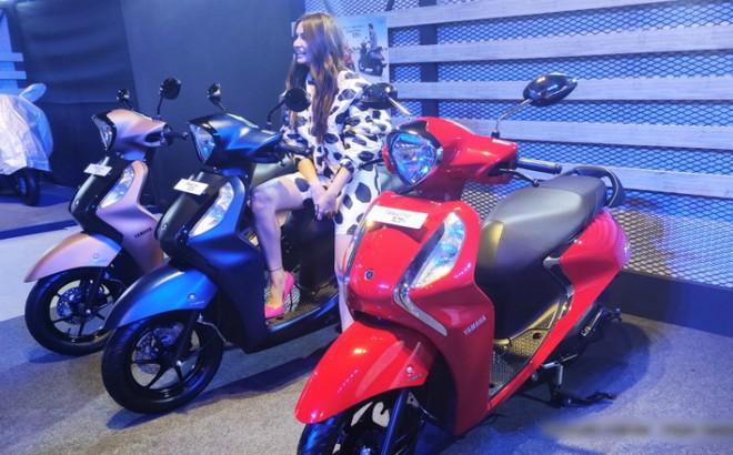 Yamaha Fascino Fi Hybrid chốt giá không ngờ, Grande siêu tiết kiệm xăng khó lòng cạnh tranh 1