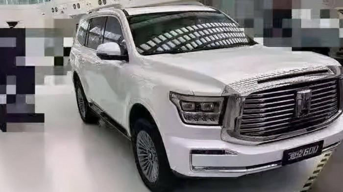 Trung Quốc sắp ra mắt mẫu SUV mới, đối thủ xứng tầm với Toyota Land Cruiser 1