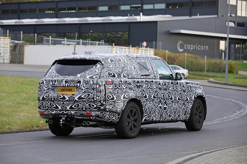 Xem trước thiết kế Range Rover thế hệ mới, ra mắt chính thức năm 2022 1